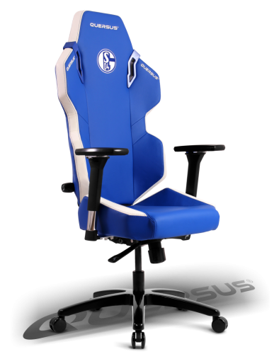 Sonderedition gaming stuhl schalke04 for Sedia gaming quersus